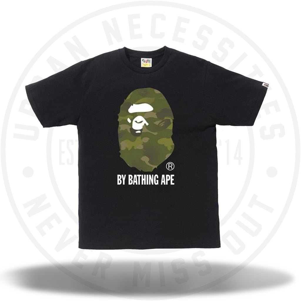 BAPE Gradation Camo By Bathing Tee Black/Olivedrab-Urban Necessities