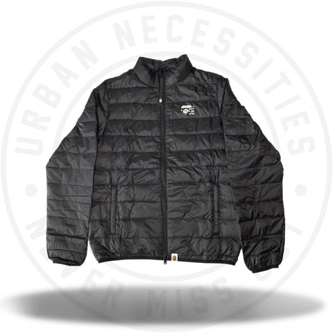 Bape Happy New Year 2019 Light Down Jacket Black-Urban Necessities