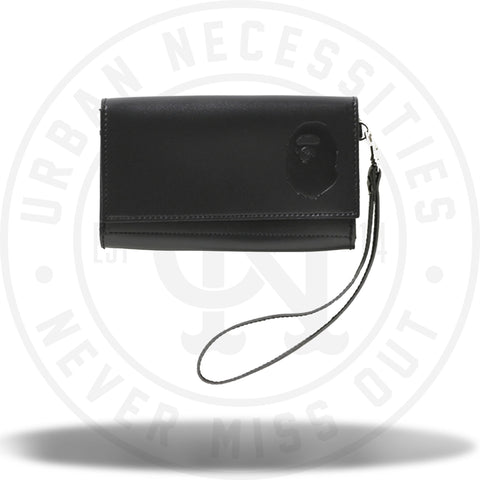 Bape Large Leather Wallet-Urban Necessities