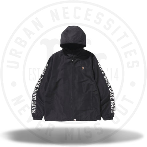 BAPE Premium Summer Bag Lightweight Windbreaker Jacket Black-Urban Necessities