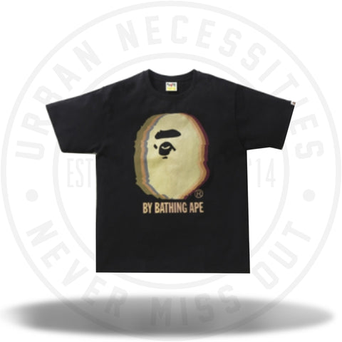 BAPE Reflector Noise by Bathing Tee Black/Yellow-Urban Necessities
