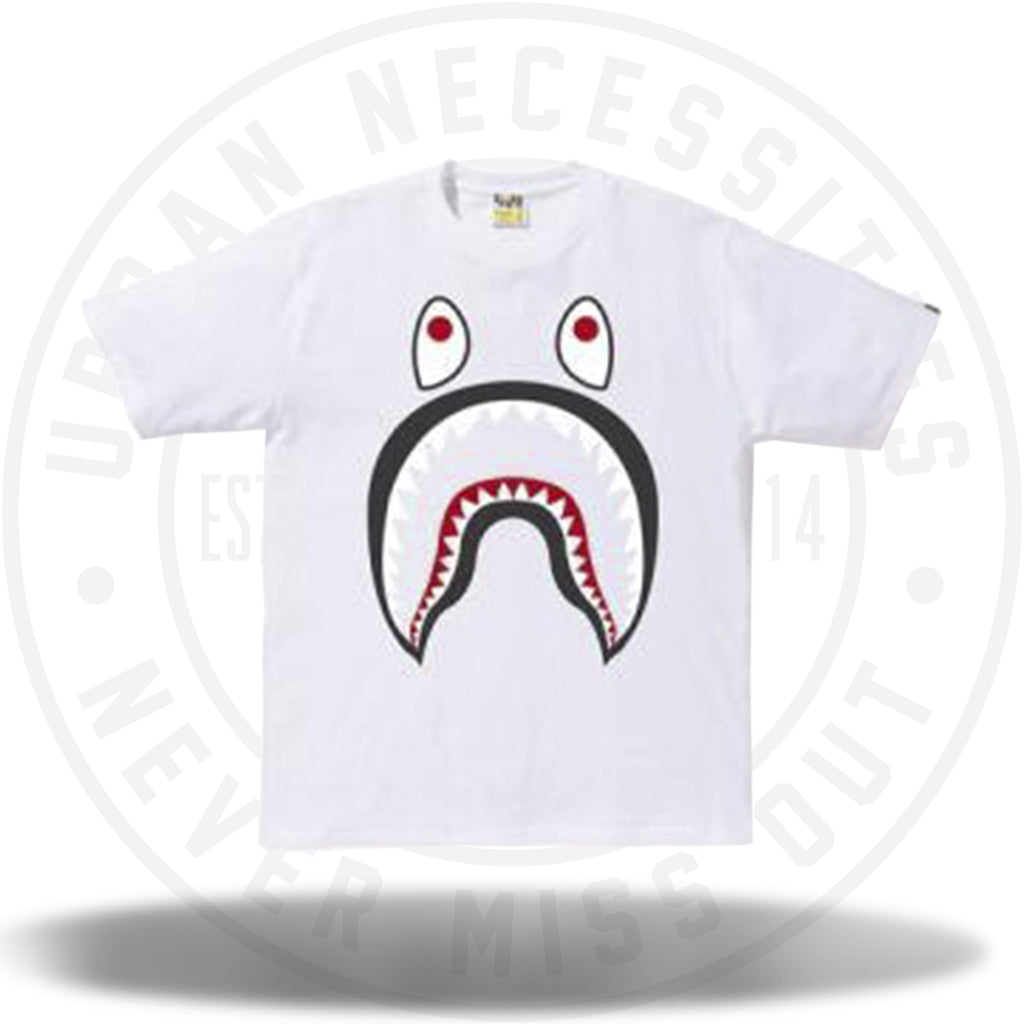 Bape Shark PONR Tee White-Urban Necessities