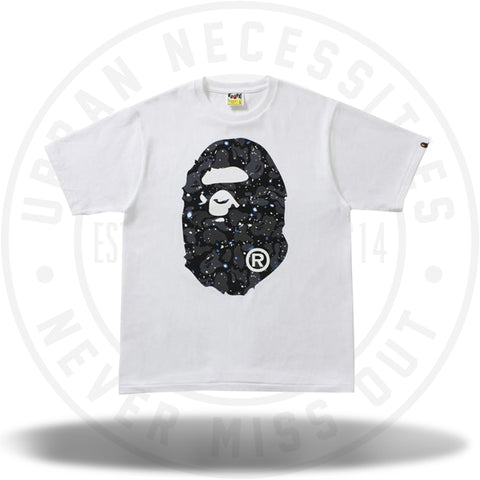 Bape Space Camo Tee White-Urban Necessities