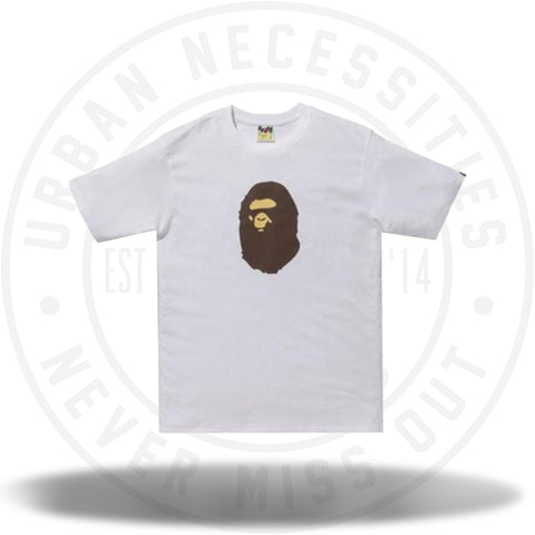 BAPE Summer Bag Ape Head Tee White-Urban Necessities