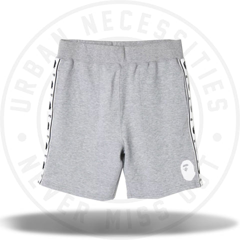 Bape Summer Sweatshorts Grey 2018-Urban Necessities