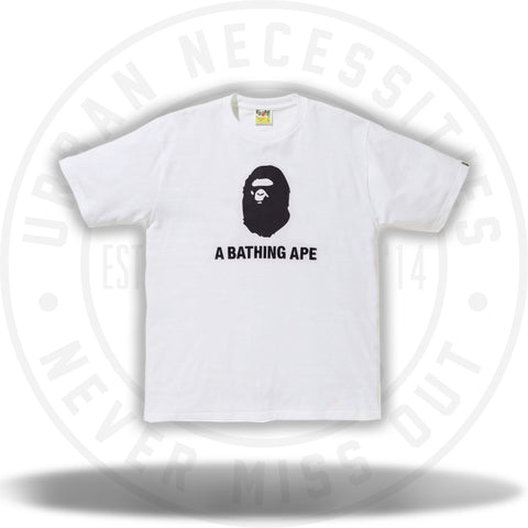Bape Summer Tee White/Navy 2018-Urban Necessities