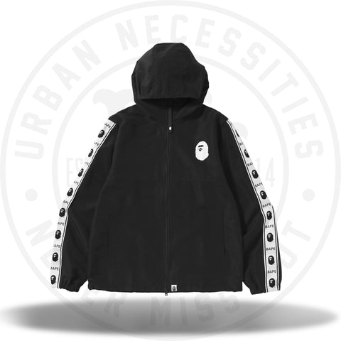 Bape Summer Zip-Up Jacket Black 2018-Urban Necessities
