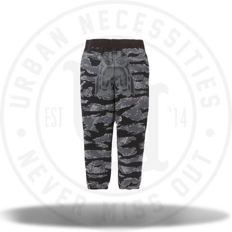 Bape Tiger Camo Tiger Sweat Pants Grey-Urban Necessities