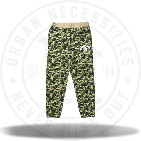 Bape Undefeated ABC Sweatpants Green-Urban Necessities