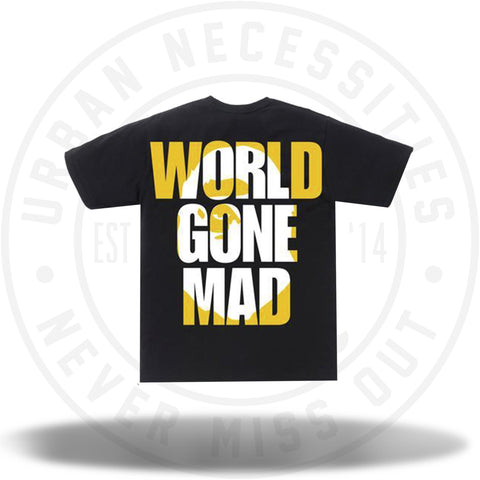 Bape WGM Ape Head Overlap Tee Black-Urban Necessities