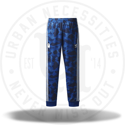 Bape x adidas adicolor Track Pants Blue-Urban Necessities
