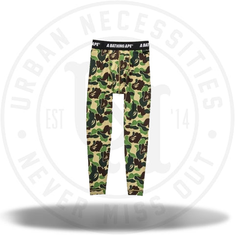 BAPE x adidas SB Tights Green-Urban Necessities