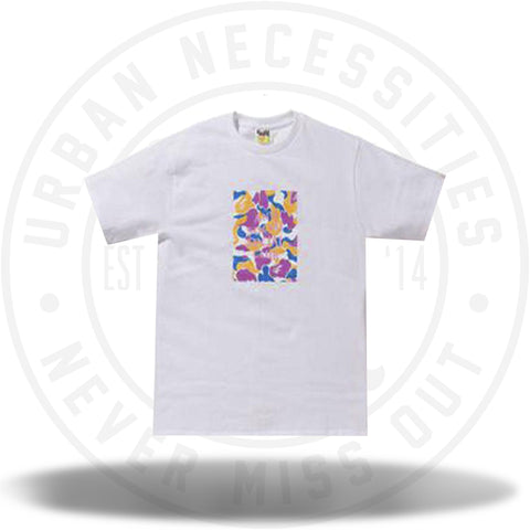BAPE x Anti Social Social Club LA Exclusive City Camo Box Tee White/Multi-Urban Necessities