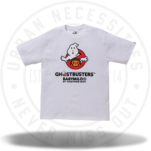 BAPE x Ghostbusters Baby Milo Tee #2 White-Urban Necessities