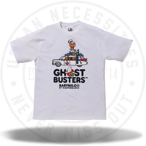 BAPE x Ghostbusters Baby Milo Tee #3 White-Urban Necessities