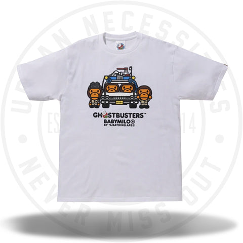 BAPE x Ghostbusters Baby Milo Tee #4 White-Urban Necessities