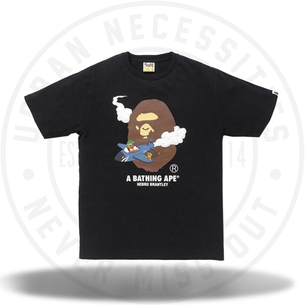 Bape x Hebru Brantley 1 Tee Black-Urban Necessities