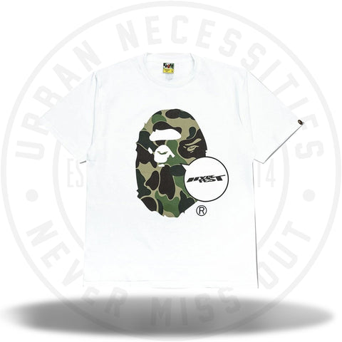Bape x Hypefest Big Ape Head Tee White-Urban Necessities