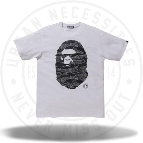 Bape x Undefeated Apehead Tee White-Urban Necessities