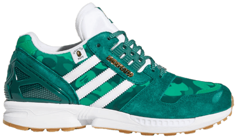 BAPE x Undefeated x ZX 8000 'Green Camo' - FY8851-Urban Necessities