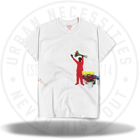 BIG SEAN SINGLE AGAIN TEE - WHITE-Urban Necessities