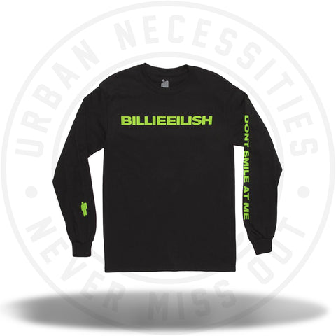 Billie Eilish Don't Smile At Me L/S Shirt-Urban Necessities