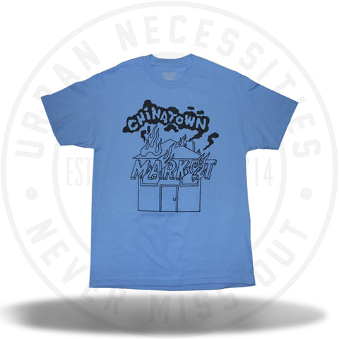 Chinatown Market House On Fire Tee-Urban Necessities