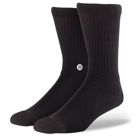 Classic Crew Socks Icon 3 Pack Black-Urban Necessities
