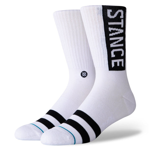 Classic Crew Socks - OG White-Urban Necessities