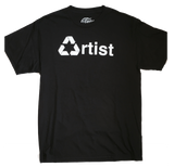 Cloney RECYCLED ARTIST T-Shirt in Black-Urban Necessities