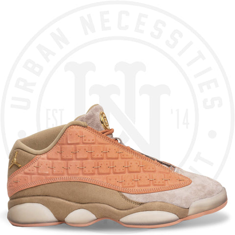 CLOT x Air Jordan 13 Low 'Terracotta' -AT3102 200-Urban Necessities
