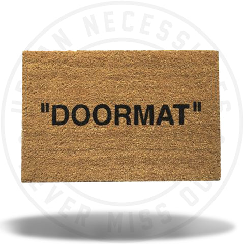 """DOORMAT"" RUG-Urban Necessities"