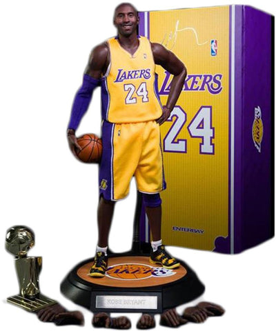 Enterbay NBA MASTERPIECE Kobe Bryant 2 Scale Figures NIB-Urban Necessities