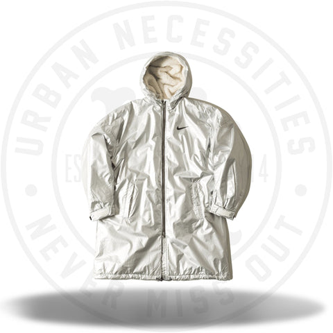 FEAR OF GOD x Nike Parka Jacket Metalic Silver-Urban Necessities