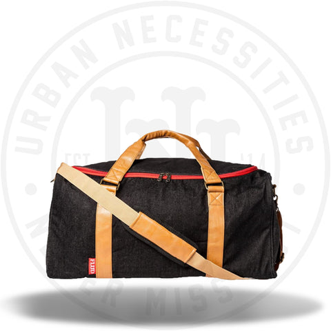 FLUD x Mayor Sneaker Duffle Bag - Black Denim SB001-Urban Necessities