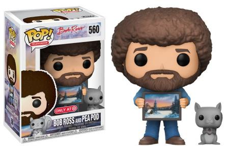 Funko Pop! The Joy of Painting Target Exclusive BOB ROSS and PEAPOD #560-Urban Necessities