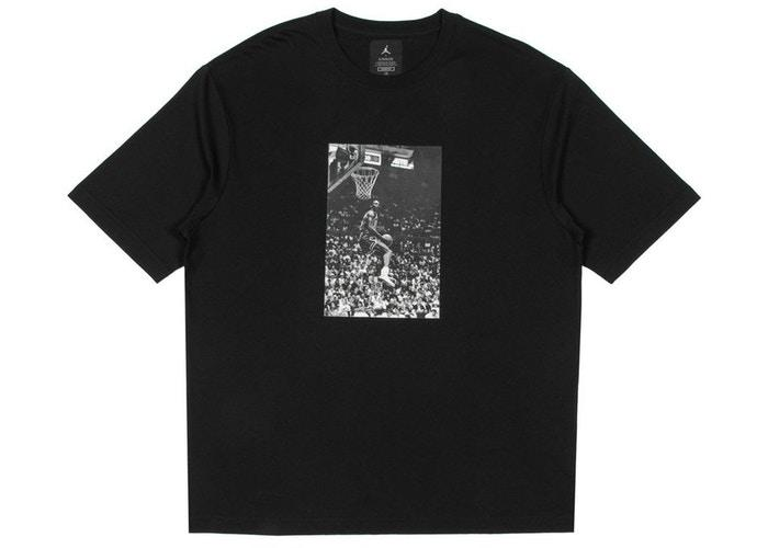 Jordan x Union Reverse Dunk T-Shirt Black-Urban Necessities