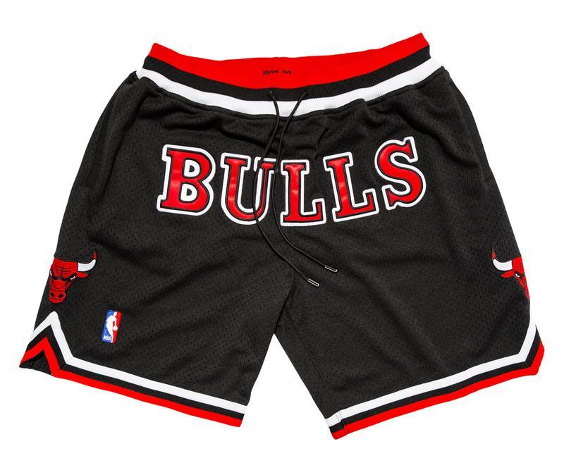 Just Don Chicago Bulls Shorts-Urban Necessities