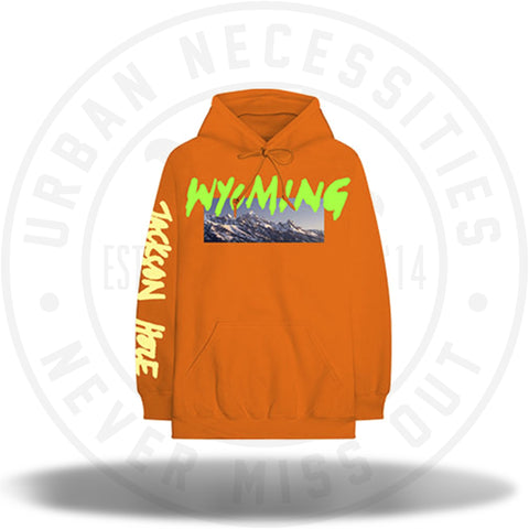 Kanye West Wyoming Hoodie - Orange-Urban Necessities