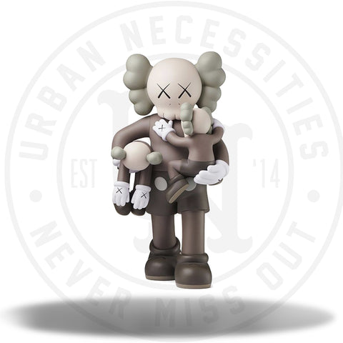 Kaws Clean Slate Vinyl Figure Brown-Urban Necessities