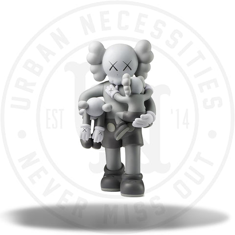 Kaws Clean Slate Vinyl Figure Grey-Urban Necessities