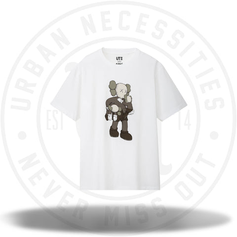 KAWS x Uniqlo Clean Slate Tee White-Urban Necessities
