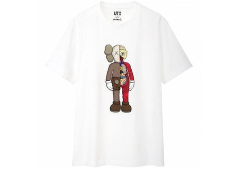 KAWS x Uniqlo Flayed Tee White-Urban Necessities