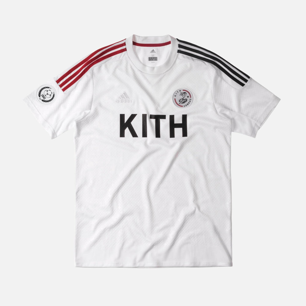 Kith x Adidas Soccer Game Jersey White-Urban Necessities