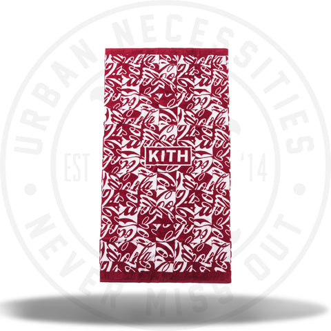Kith x Coca-Cola Cubed Beach Towel Red-Urban Necessities