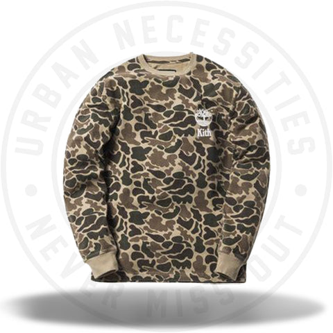 Kith x Timberland Classic L/S Tee Duck Camo-Urban Necessities