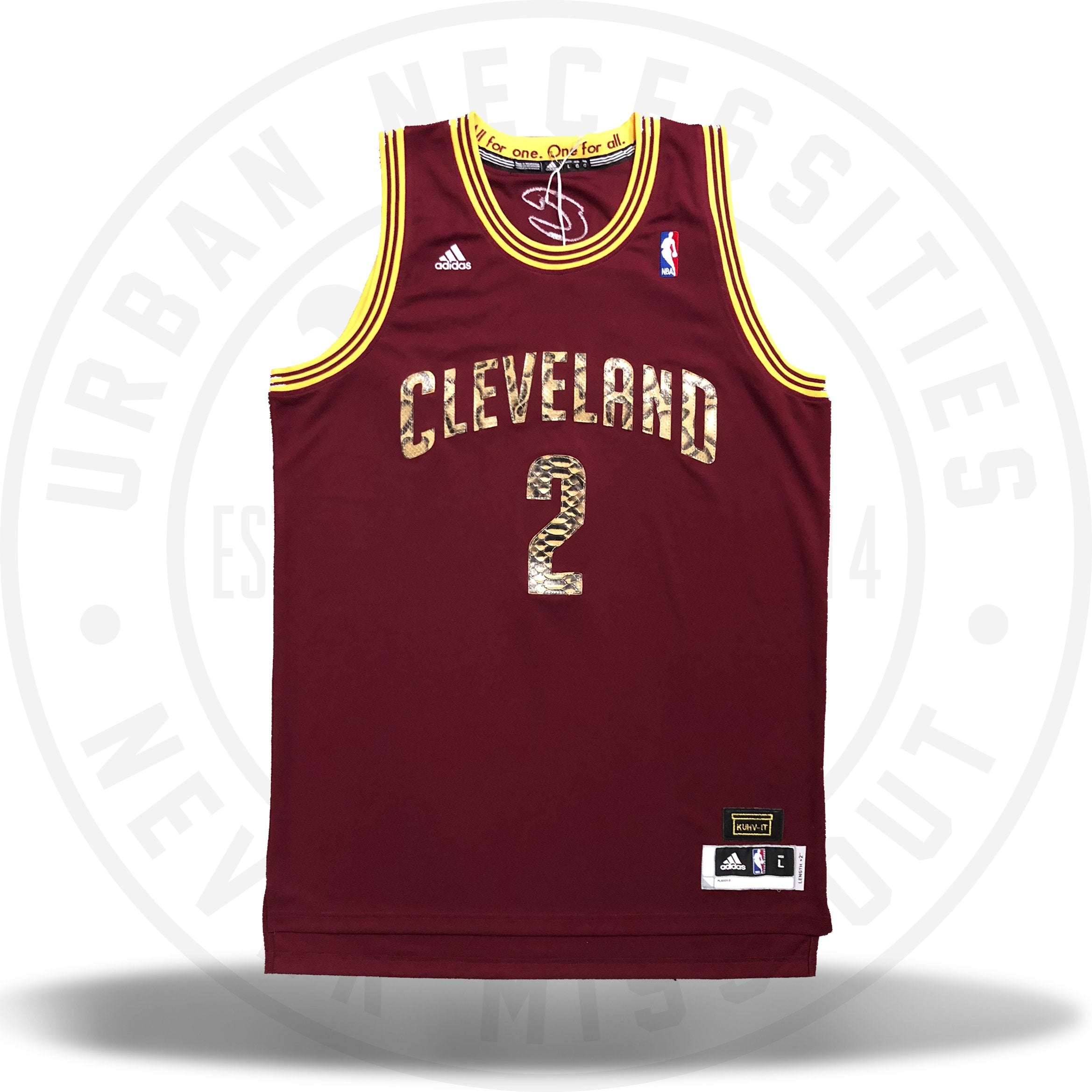 1236a36b6e29 Kuhvit Customs Cleveland Cavaliers  Irving  Python Custom Jersey-Urban  Necessities