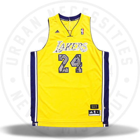 Kuhvit Customs LA Lakers  Bryant 24  Custom Jersey with Python-Urban  Necessities 538ecbb03