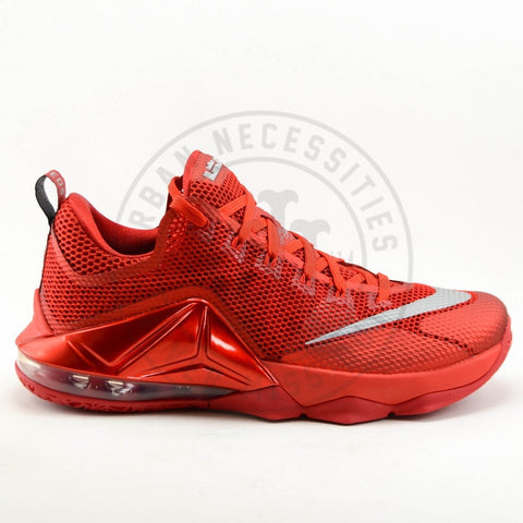 Lebron 12 Low Varsity Red-Urban Necessities
