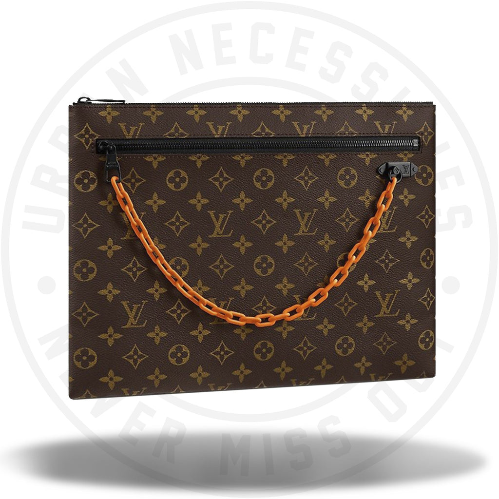 Louis Vuitton A4 Pouch Monogram Brown-Urban Necessities